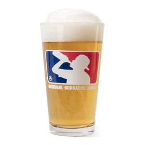 National Borracho League Glass