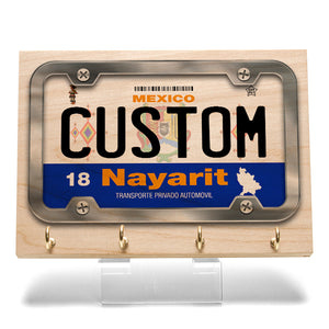 Nayarit License Plate Key Rack