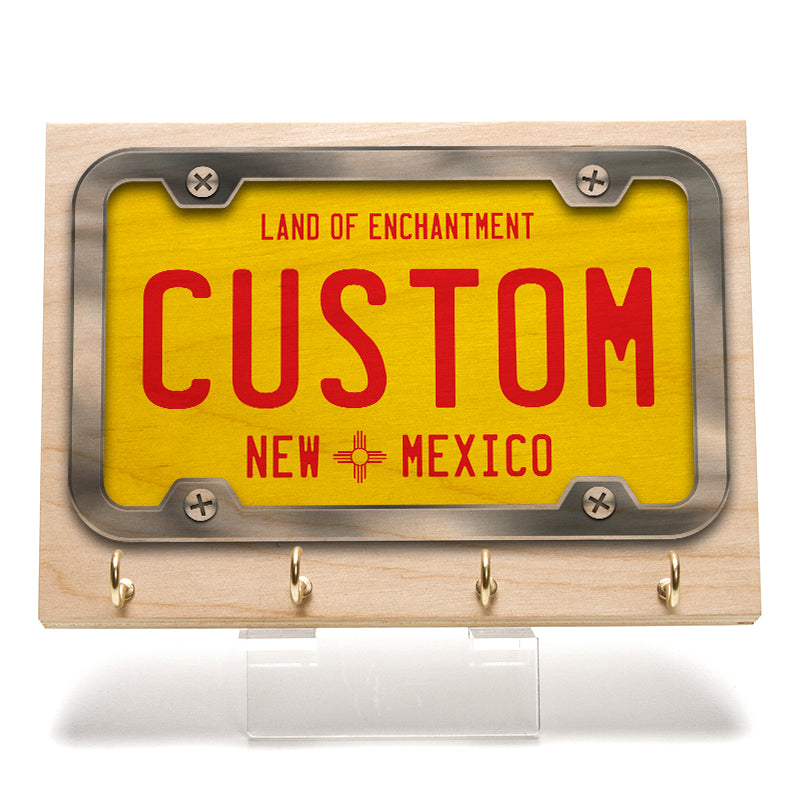 New Mexico License Plate Key Rack