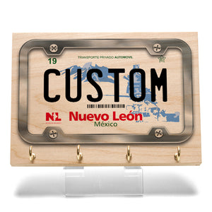 Nuevo Leon License Plate Key Rack