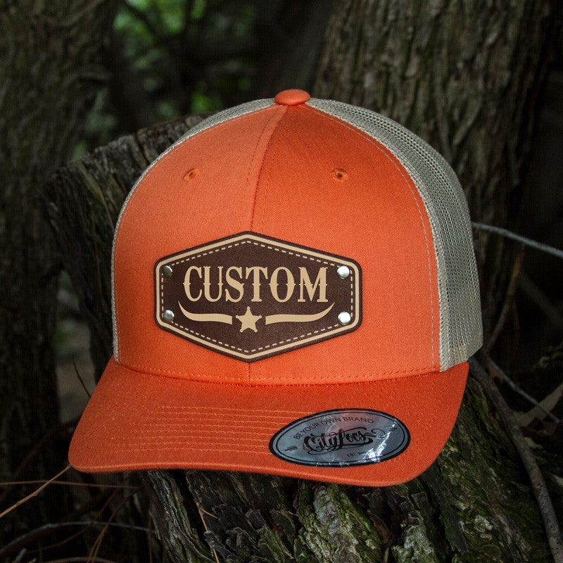 Trucker Rustic Orange
