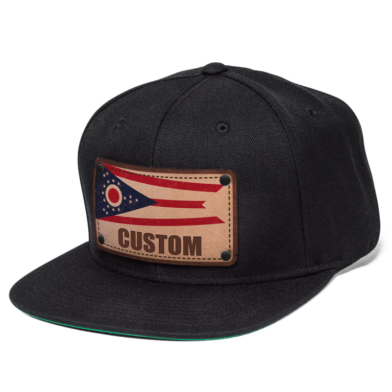e7409038b29 Ohio state flag mens baseball hats customized at Citylocs.com - citylocs