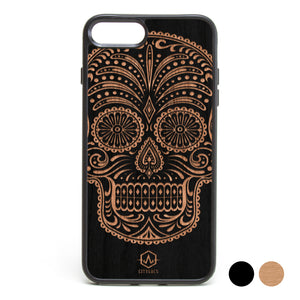 Sugar Skull Paisley Phone Case