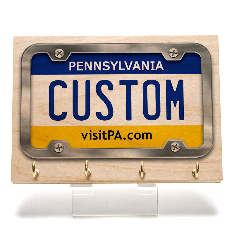 Penssylvania License Plate Key Rack