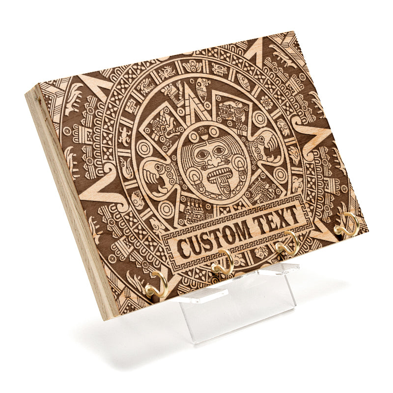 Aztec Calendar Custom Key Rack