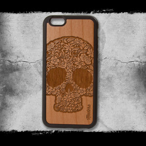 Rose Skull Phone Case
