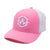 Embroidered Apex Pink/White Trucker