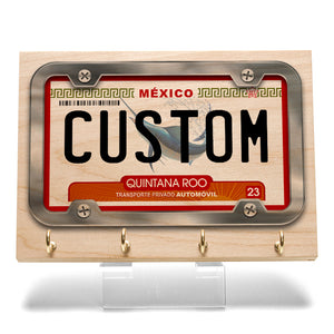Quintana Roo License Plate Key Rack