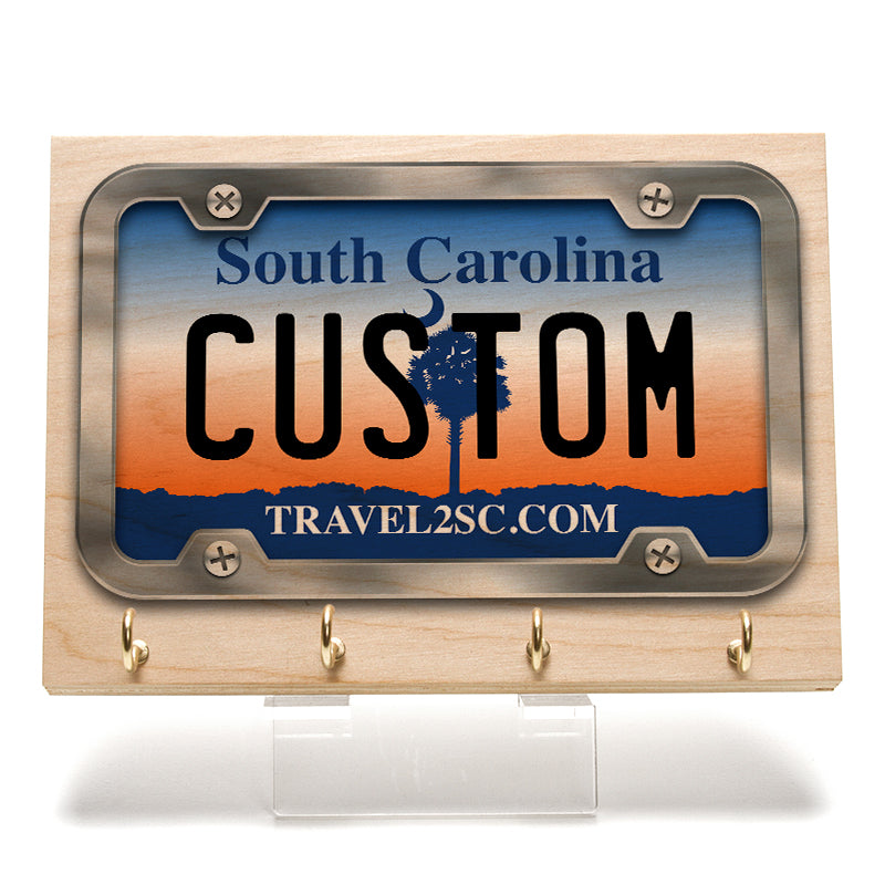 South Carolina License Plate Key Rack