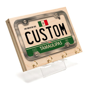 Tamaulipas License Plate Key Rack
