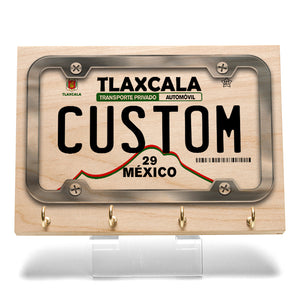 Tlaxcala License Plate Key Rack