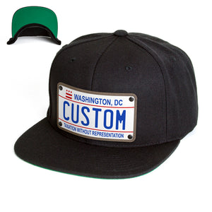 Washington DC Plate Hat