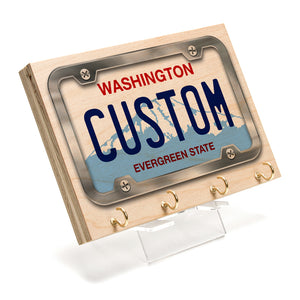 Washington License Plate Key Rack