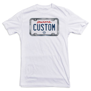 Louisiana License Plate Tee
