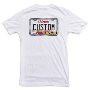 Maryland License Plate Tee