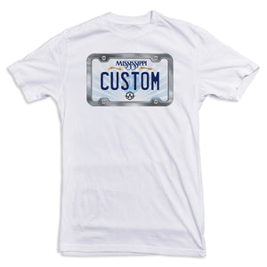 Mississippi License Plate Tee