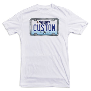 Missouri License Plate Tee