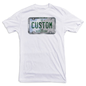 New Hampshire License Plate Tee