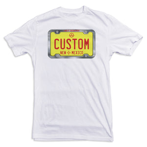 New Mexico License Plate Tee