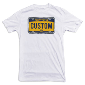 New York License Plate Tee