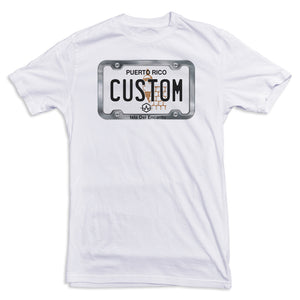 Puerto Rico License Plate Tee