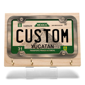 Yucatan License Plate Key Rack