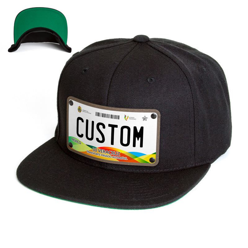 Veracruz License Plate Hat