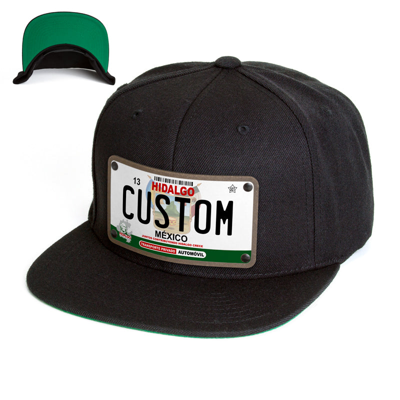 Hidalgo License Plate Hat