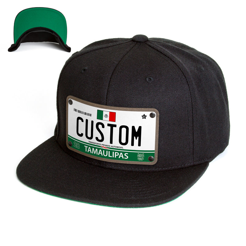 Tamaulipas License Plate Hat