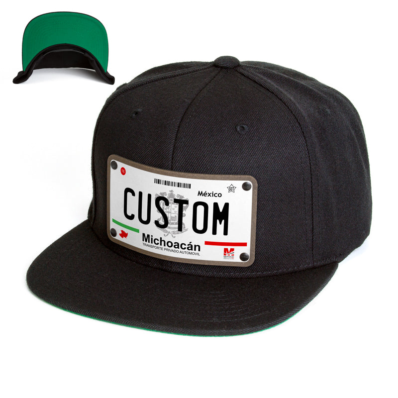 Michoacan License Plate Hat