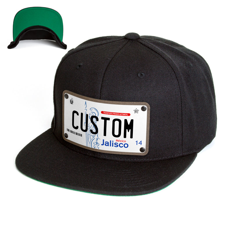 Jalisco License Plate Hat