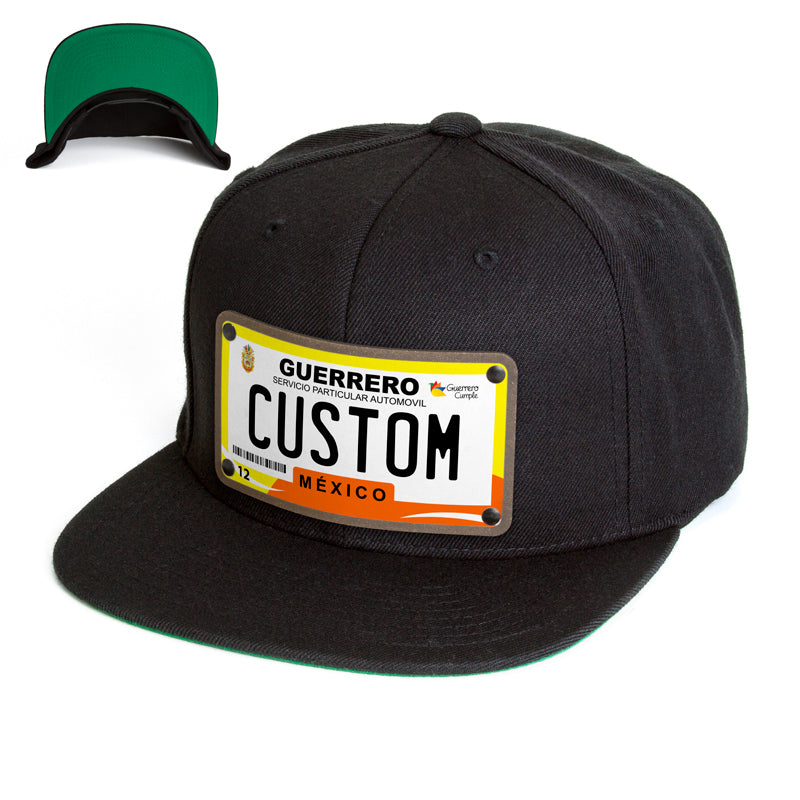 Guerrero License Plate Hat