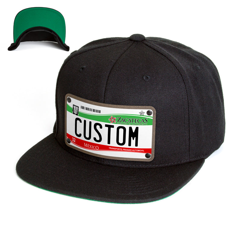 Zacatecas License Plate Hat