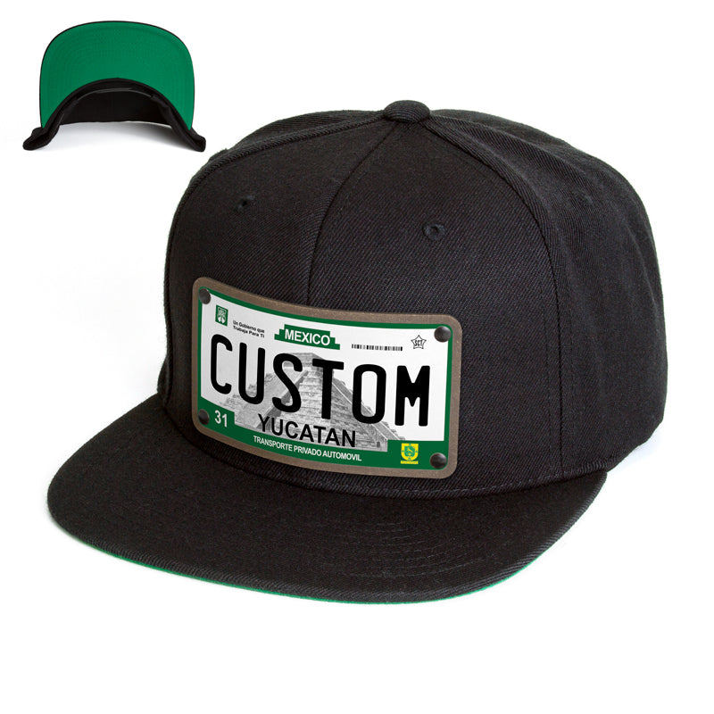 Yucatan License Plate Hat