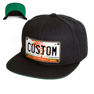 Chiapas License Plate Hat