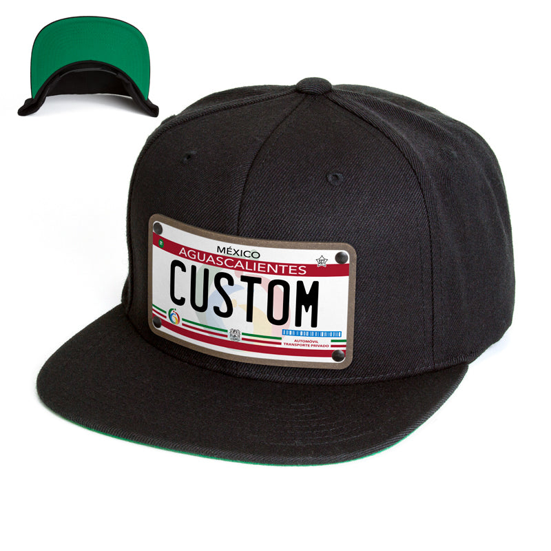 Aguascalientes License Plate Hat
