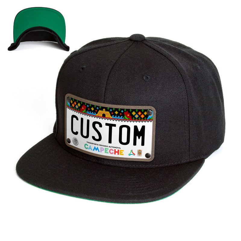 Campeche License Plate Hat