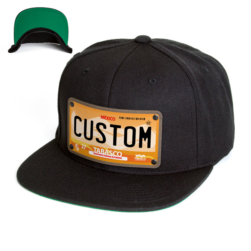 Tabasco License Plate Hat