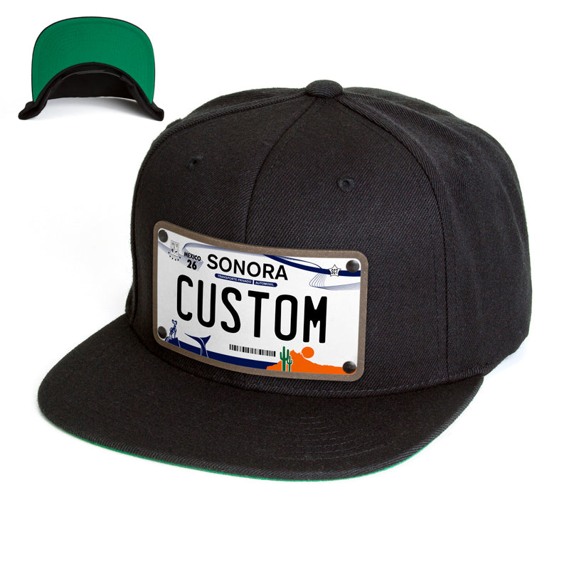 Sonora License Plate Hat