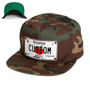 Sinaloa License Plate Hat