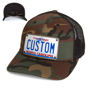 North Carolina Plate Hat