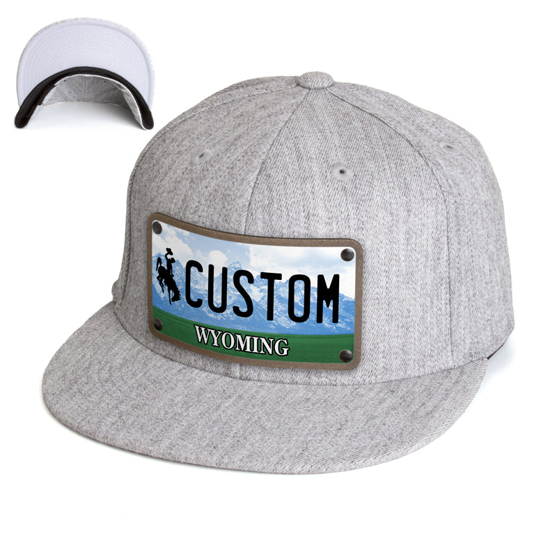 Wyoming Plate Hat