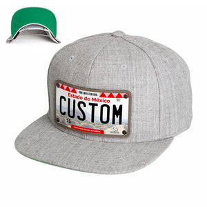 Estado de Mexico License Plate Hat