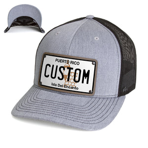Puerto Rico Plate Hat