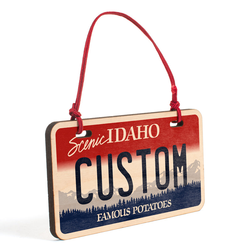 Idaho Ornament