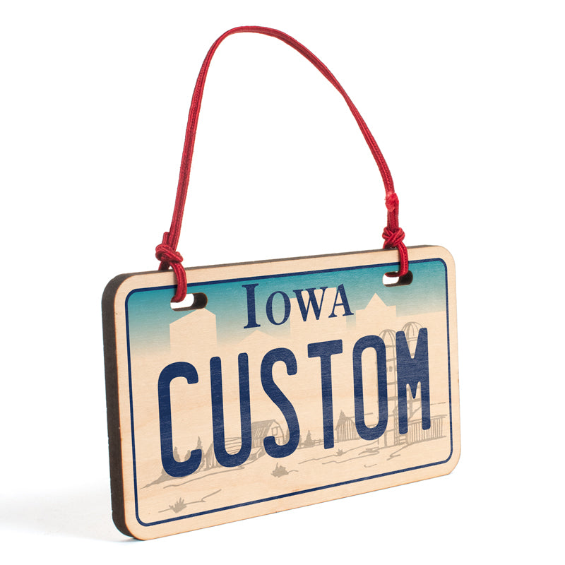 Iowa Ornament