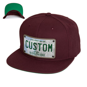 New Hampshire Plate Hat