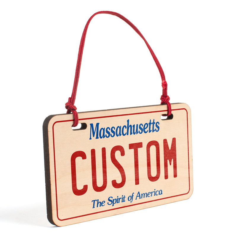 Massachusetts Ornament