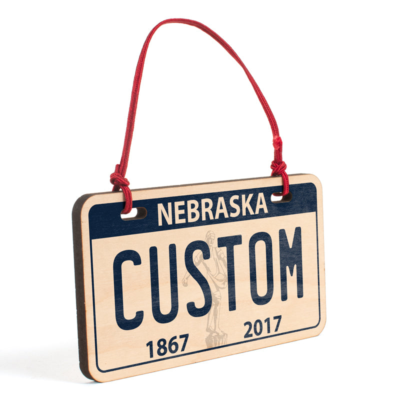 Nebraska Ornament