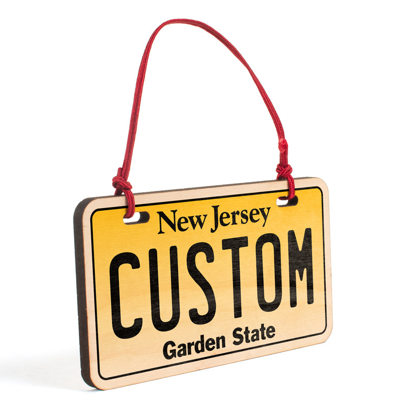 New Jersey Ornament